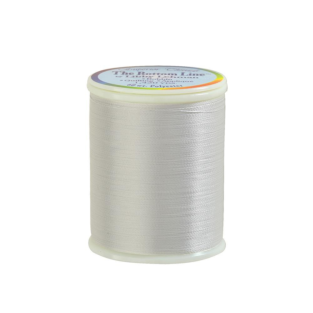 Superior Bottom Line Polyester Thread 60wt 1420yds Silver