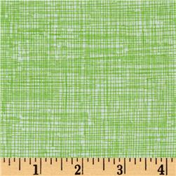 Timeless Treasures Sketch Flannel Lime