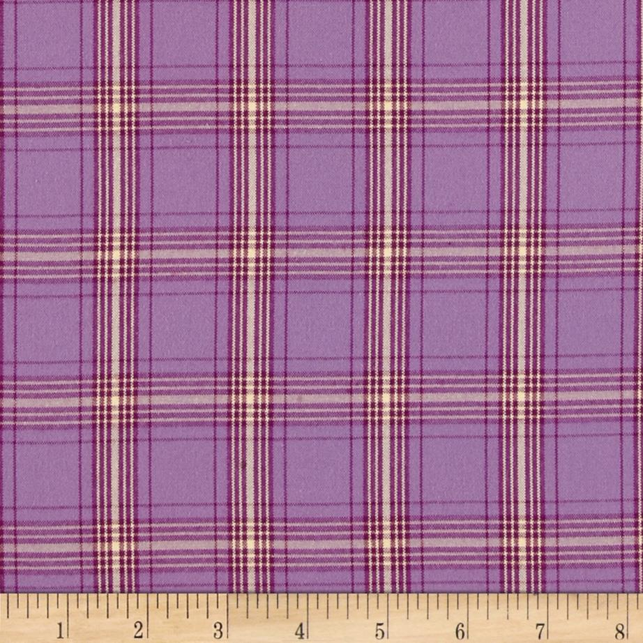 Kaufman Classic Threads Plaid Sorbet