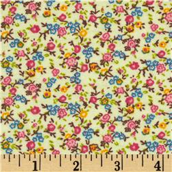 Aunt Polly's Flannel Small Floral Multi