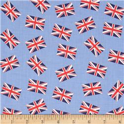 Dear Stella London Calling Union Jacks Blue