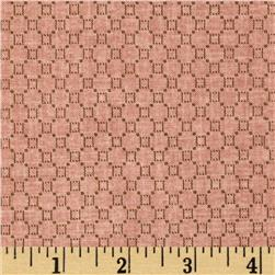 Jeanne Horton The Settlement Collection Honeycomb Pink