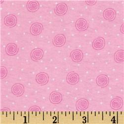 Comfy Flannel Swirl Pink