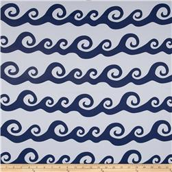 RCA Blackout Nautical Waves Navy