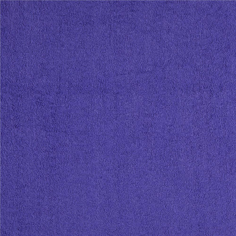 Terry cloth purple discount designer fabric for Fabric cloth material