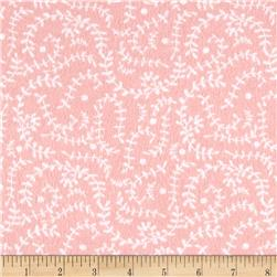 Flannel Vines Pink