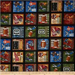 Whole 9 Yards Football Squares Black