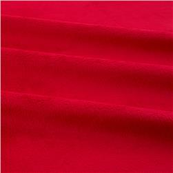 Shannon Minky Solid Cuddle 3 Red