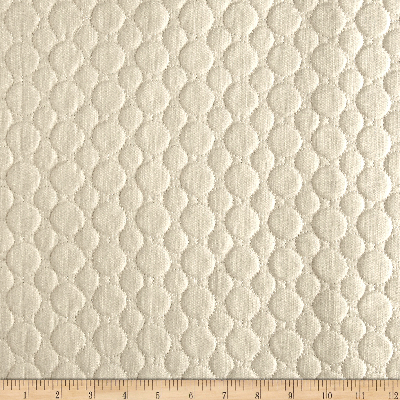 Richloom Matelasse Whythe Natural Home Decor Fabric