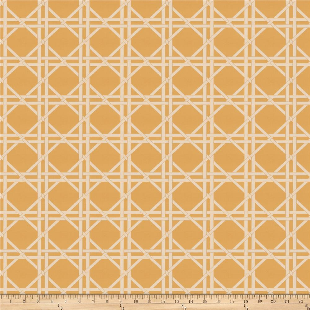 Fabricut Vlad Lattice Jacquard Mimosa
