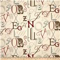 Premier Prints Alphabet Pewter/Natural