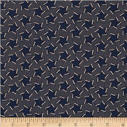 Penny Rose Americana Stars Navy Fabric