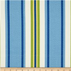 Swavelle/Mill Creek Indoor/Outdoor Trudy Stripe Blue Summer