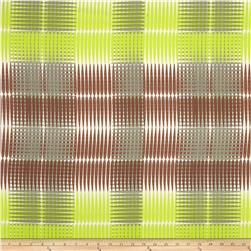Ty Pennington Home Decor Sateen Fall 11 Plaid Green