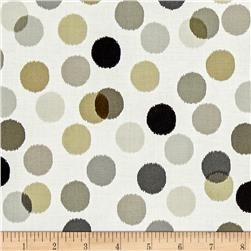 Shadows Paintbox Dots Taupe/White