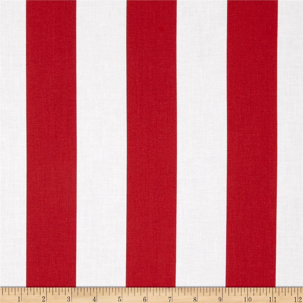 "Riley Blake 2"" Stripe Red"
