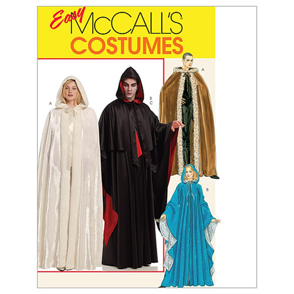 McCall's Misses'/Men's Costumes Pattern M5957 Size ADT