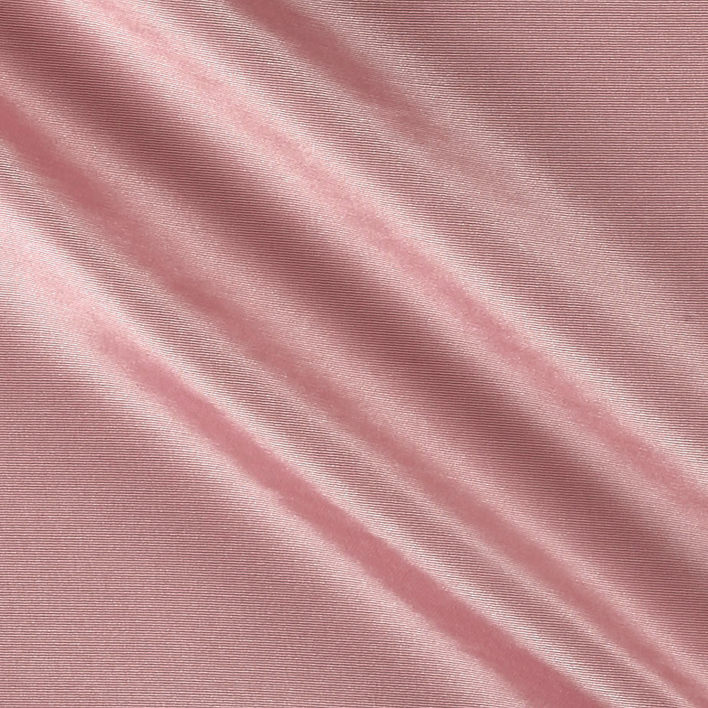Ribbed Bengaline Wood Rose Fabric
