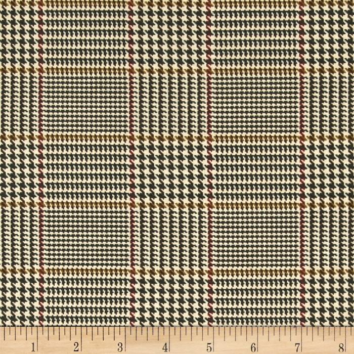 Penny Rose Menswear Plaid Tan