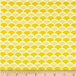 Flannel New Waves Yellow