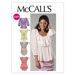 McCall's Misses' Tops Pattern M6467 Size A50