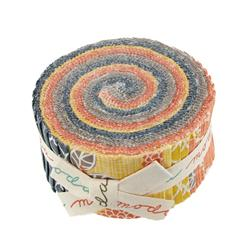 Moda Autumn Woods Jelly Roll