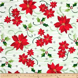 Peppermint Twist Poinsettia Green