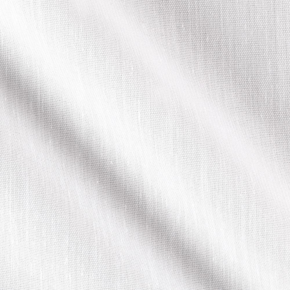 Cotton Poly Drapery Lining Broadcloth Bright White