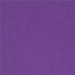 Art Gallery Pure Elements Solid Purple Pansy Fabric