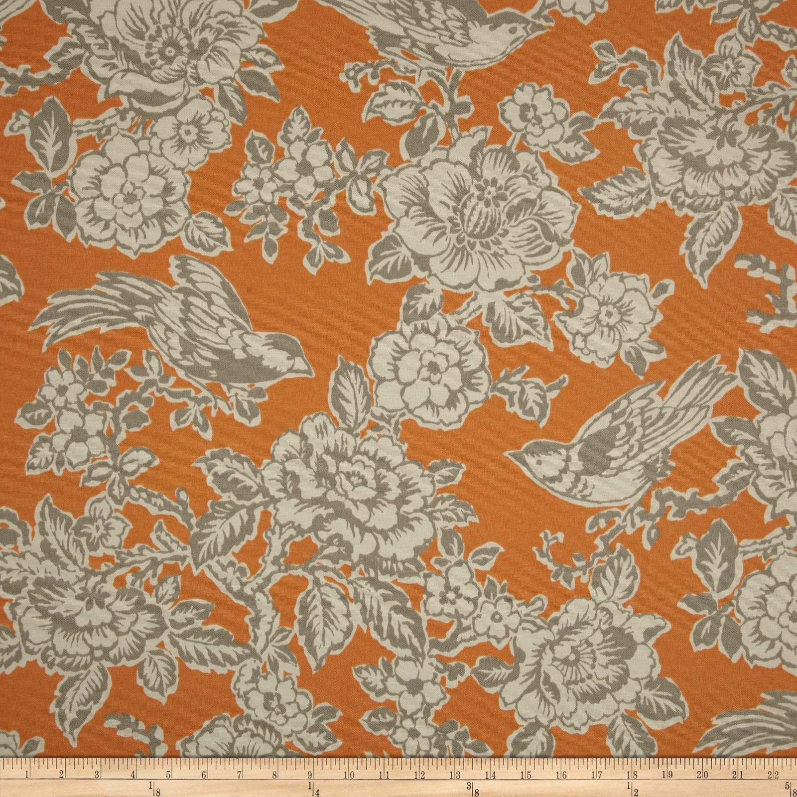 Richloom Indoor/Outdoor Goldfinch Mango Fabric by TNT in USA