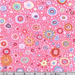 Kaffe Fassett Roman Glass Pink Fabric