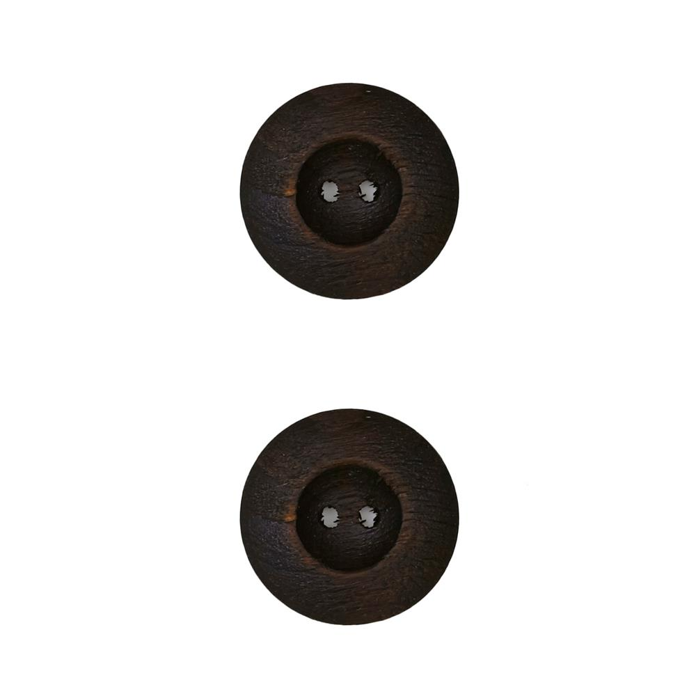 Dill Wooden Button 7/8'' Circle