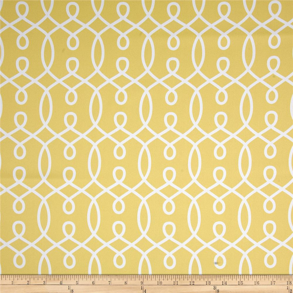 RCA Felicity Blackout Drapery Fabric Lemon
