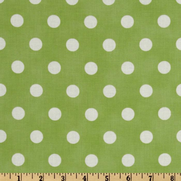 Moda Dottie (#45008-24) Light Green/White