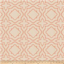 Fabricut Moondust Embroidered Coral