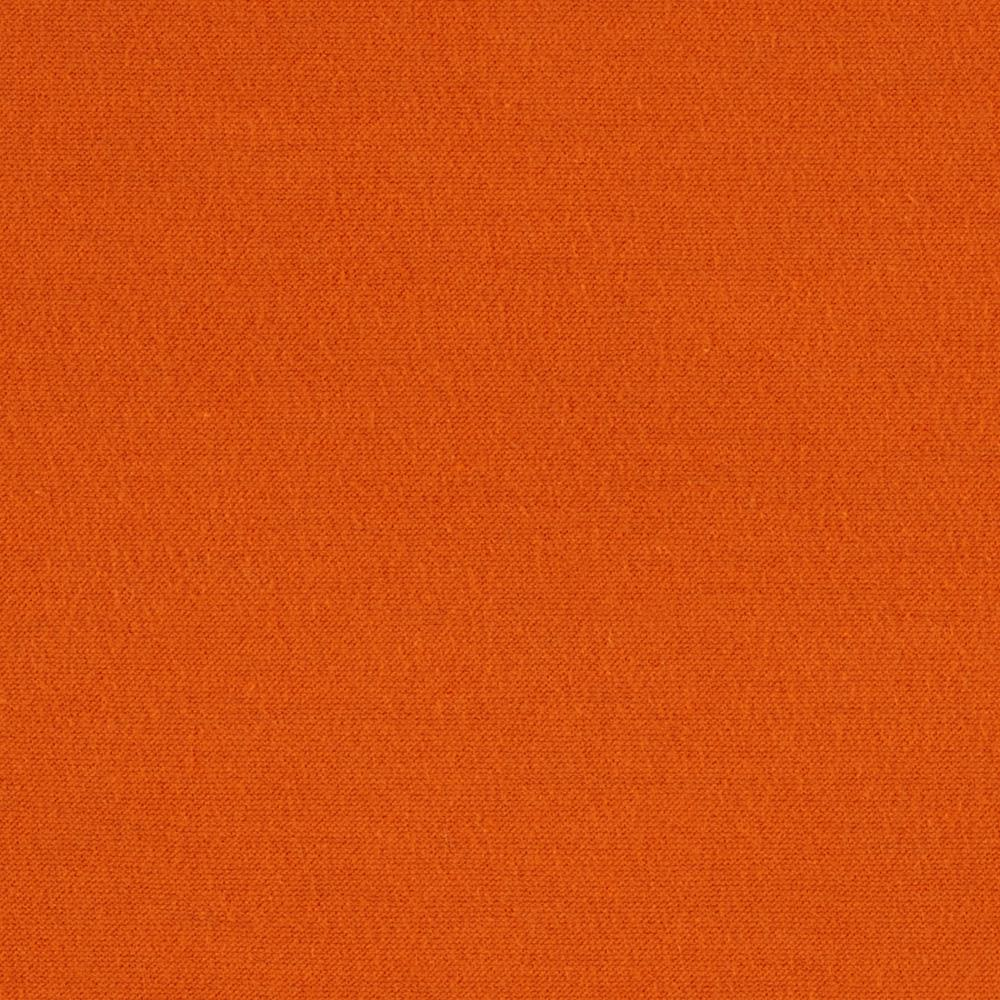 Cotton Lycra Jersey Knit Orange