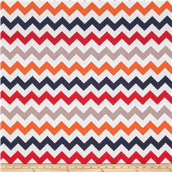 "Riley Blake 108"" Wide Medium Chevron Boy"
