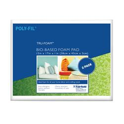 Fairfield Poly-Fil Tru-Foam 2 Pack Cushion 15'' x
