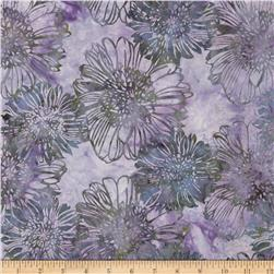 Bali Batiks Acres To Sew Blooms Westeria