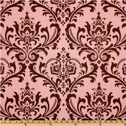 Premier Prints Traditions Pink/Brown