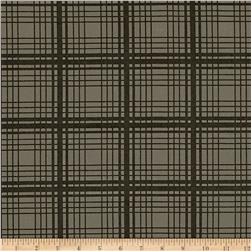 Moda Adventures Plaid Charcoal