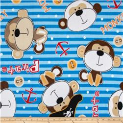 Polar Fleece Monkeys Multi