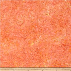 Wilmington Batiks Flower Field Coral