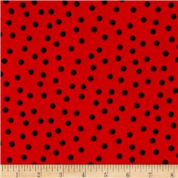 Remix Tossed Dots Poppy
