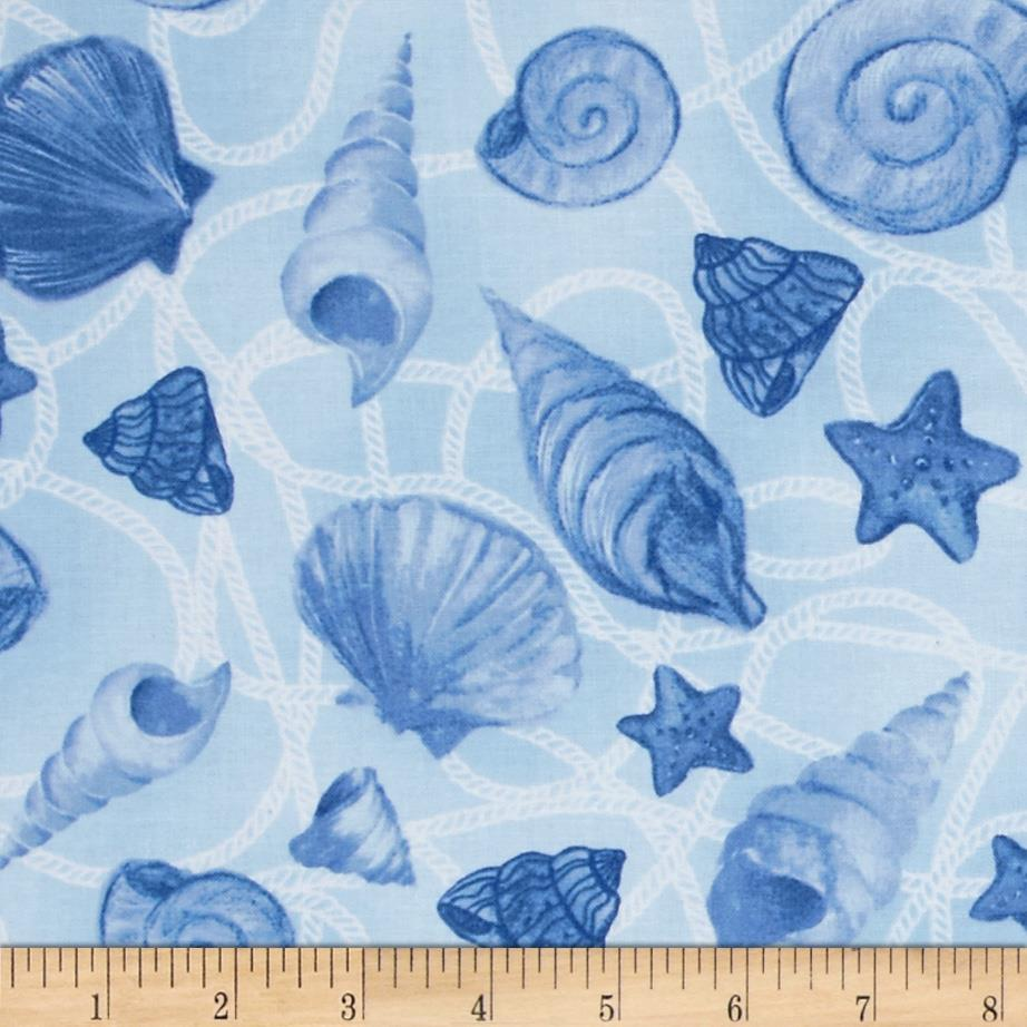 Harbor Point Tossed Shells Blue