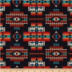 Tucson Beaded Blanket Black