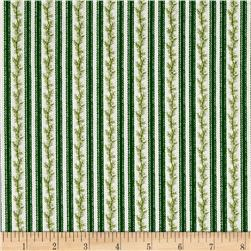 Anne of Green Gables Stripe Green