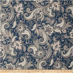 Imperial Paisley Denim Blue