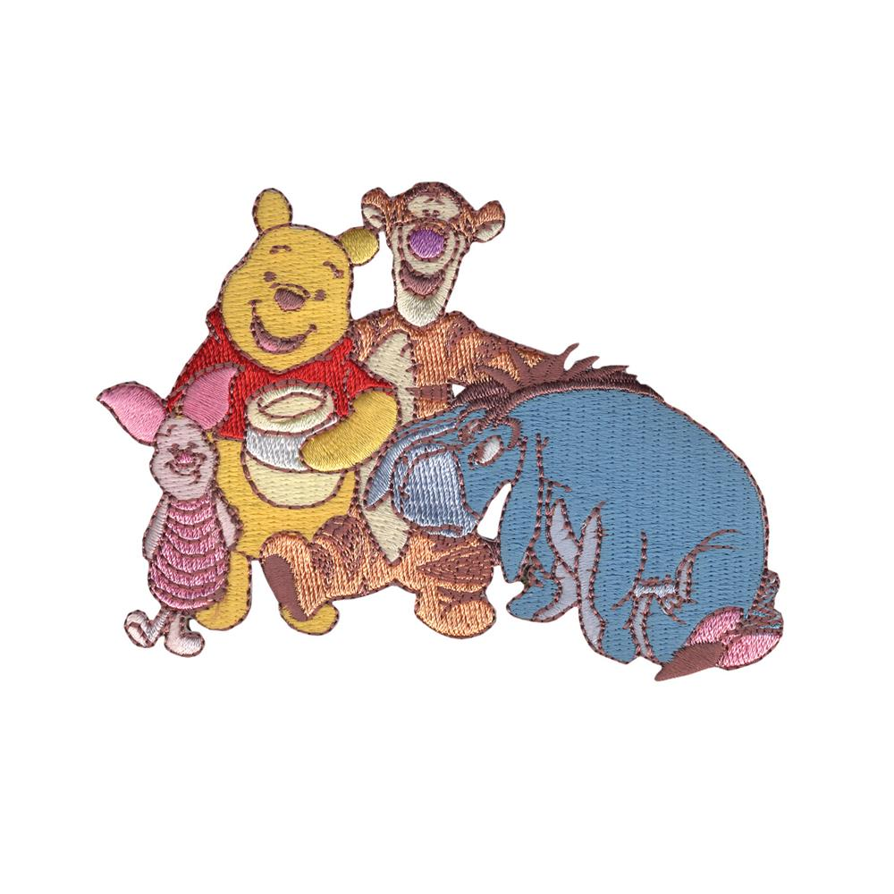 Disney Winnie The Pooh Iron On Applique Pooh & Friends