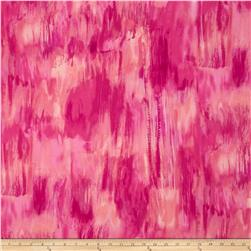 Kanvas Patio Prints Color Wash Pink Fabric